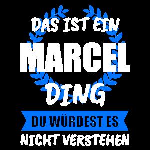 Marcel Name Vorname Geschenk