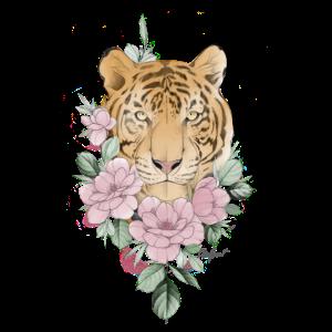 Flower Tiger pink