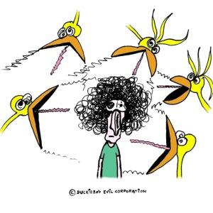 Pájaros vs Humano