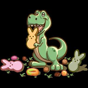 Ostern Dinosaurier