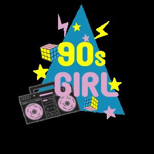 90s Party Girl 90er Girl Frauen Geschenkidee
