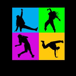 Hip Hop Tanz Tänzer Breakdance Tänzerin Geschenk