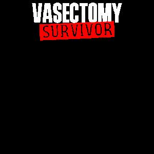 Vasektomie Sterilisations Geschenke T-Shirt