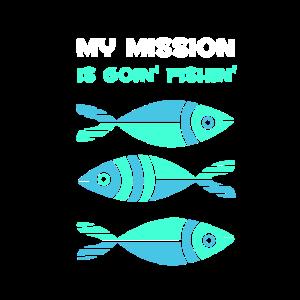 Meine Mission ist es, den Fischliebhaber Fisher G zu fischen