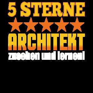 5 Sterne Architekt Zusehen Und Lernen