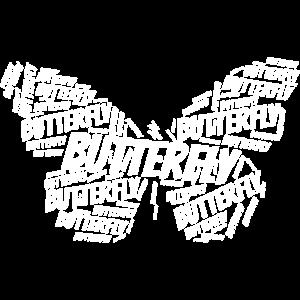 Butterfly Weiß
