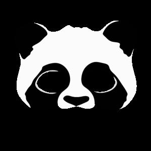 Panda Bear - Pandabär - Maske - Mask