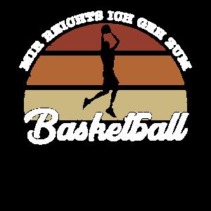 Basketball Retro Motiv