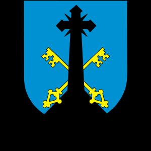 Wappen der Stadt Zakopane mit horizontaler Inschrift