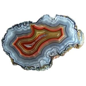 Achat Mineral Quarz Druse Geologie Schmuckstein