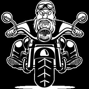 Motorrad Motorräder Rocker Biker Chopper Cruiser