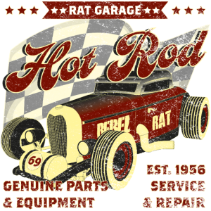 Hot Rod Rat Garage