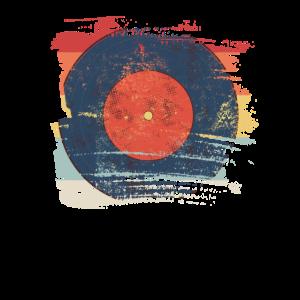 Retro Schallplatte