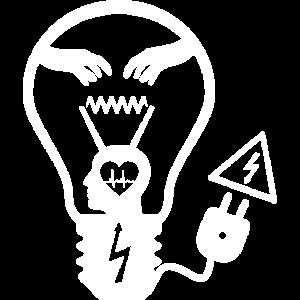 Glühbirne Weiß