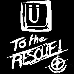 Ü to the Rescue! (Einseitig)