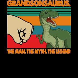 T rex Grandsonsaurus