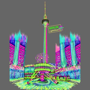 "Berliner Original ""Alexanderplatz"" PopArt Design"
