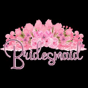 Bridesmaid flower Partnerlook