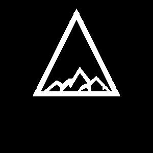 Dreieck Berge Geometrie Geschenk
