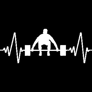 Bodybuilding Herzschlag   Heartbeat Power Lifting