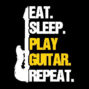 Eat Sleep Play Guitar Repeat