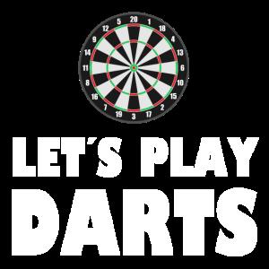 Let us play Darts - Dart - Pfeil - Dartscheibe