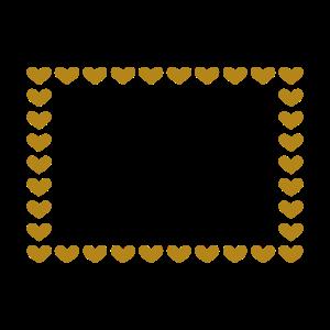 Rechteck Herz Anpassbar Linie Ornament Rahmen
