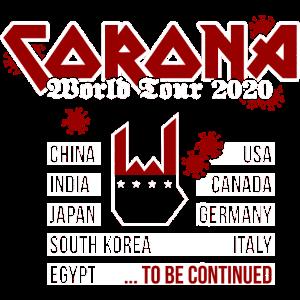 Corona World Tour 2020 - Metal Version