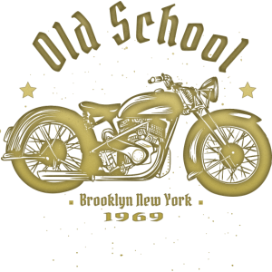 Old Shool Biker 1969