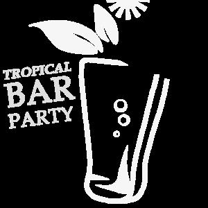 Tropische Party Vintage