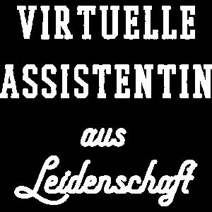 Virtuelle Assistentin aus Leidenschaft VA Geschenk