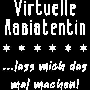 Virtuelle Assistentin VA Geschenk Freelancerin