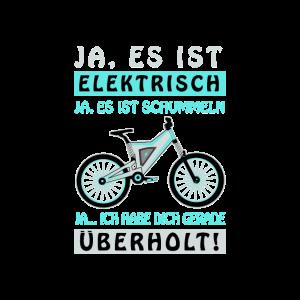 Ebike Spruch Fahrrad Lustig Geschenk
