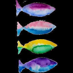 zweifarbiger Fisch