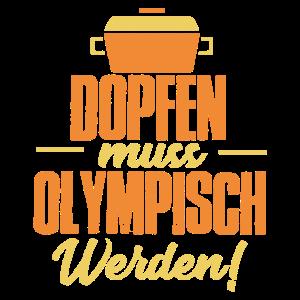 Dutch Oven Dopfen muss werden