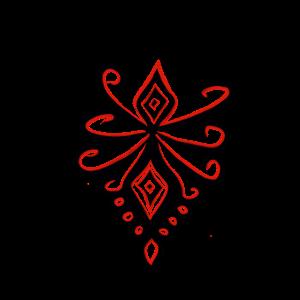 Folk Art Mandala
