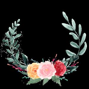 Sommer-Blumenkranz, personalisierbar