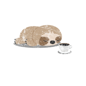 Faultier Kaffee