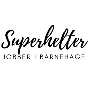 Superhelter jobber i barnehage