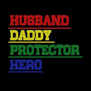 Ehemann Papa Beschützer Held