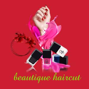 Schönheitssalon Haarschnitt