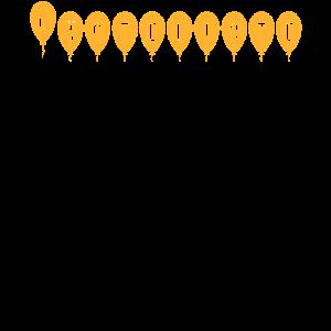 50er Geburtstag Gästeliste Shirt