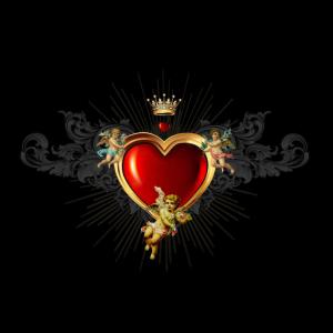 Herz und Engel