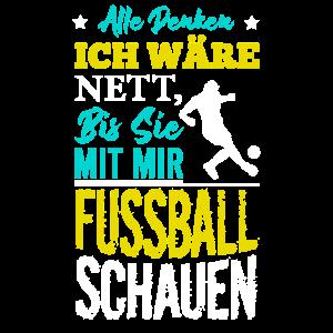 Retro Fussball Design | Fussballspieler Geschenk
