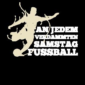 Fussball Samstag für Fussball Fans