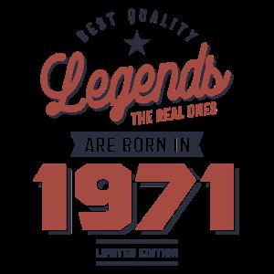 Legenden Die Wahren werden 1971 geboren