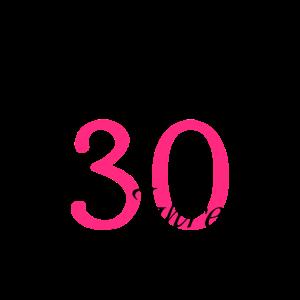 30 Geburtstag Party Bday Feiern