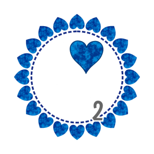 I love CO2 - Liebe Co2 Kranz aus Herzen