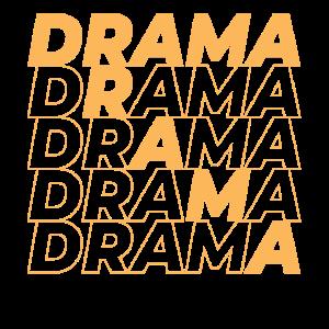 Drama - orange