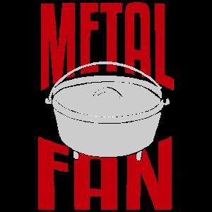 Dutch Oven, Metal Fan